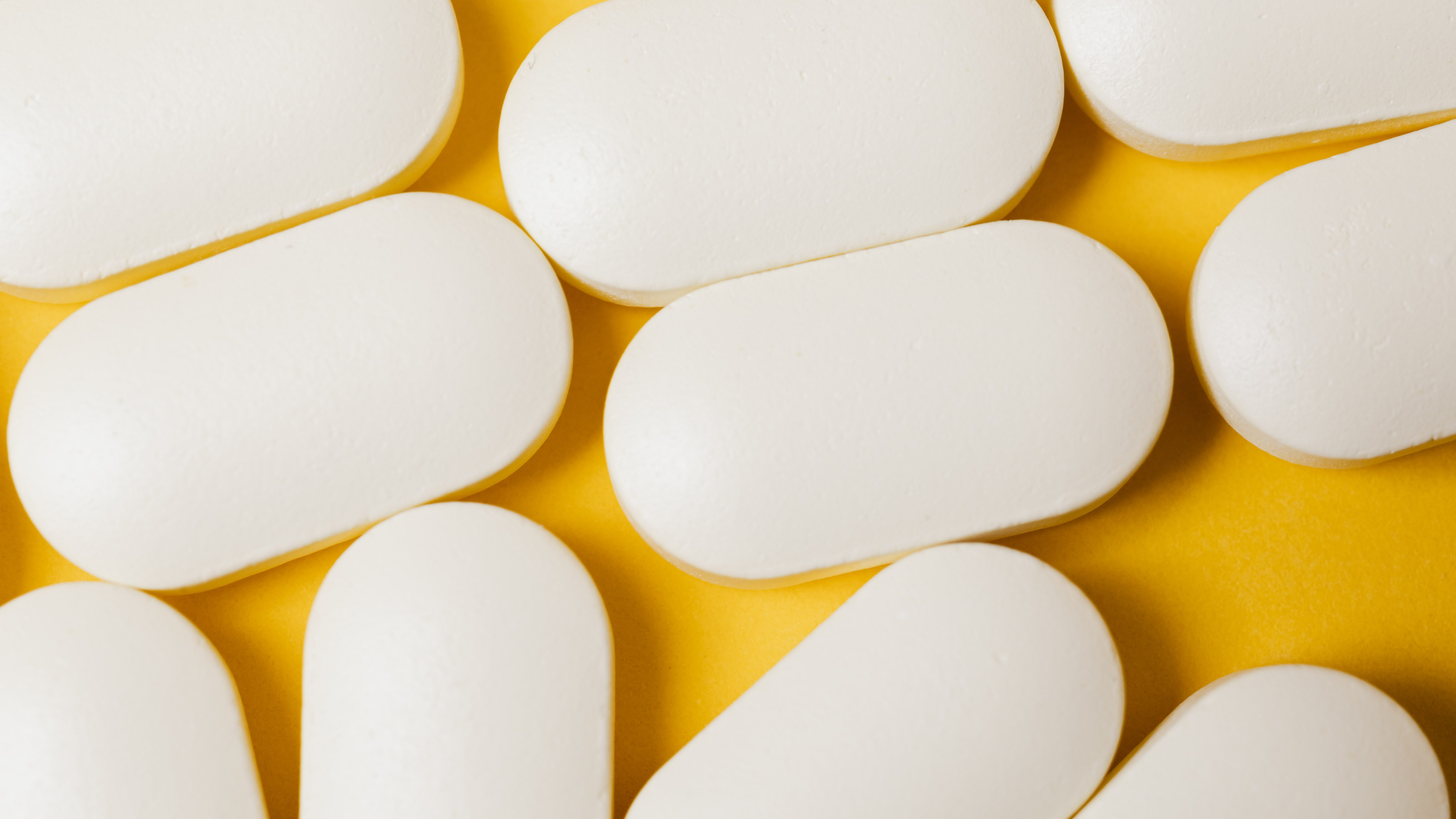 Pastillas de ibuprofeno.