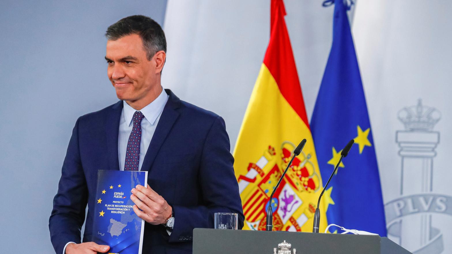 Sánchez anuncia 10 planes de inversión por 50.000 millones sin dar detalles