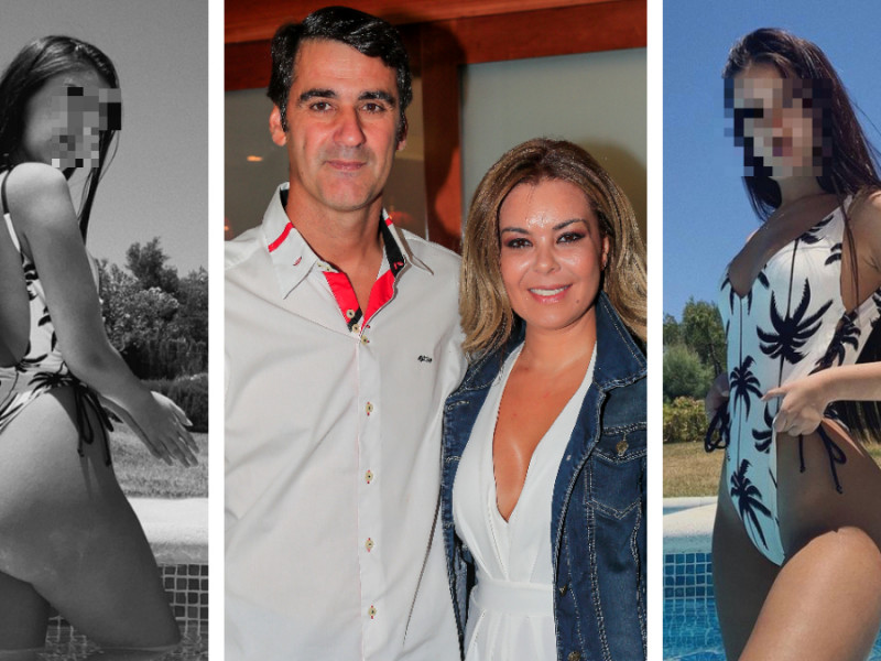 Julia Janeiro y sus padres