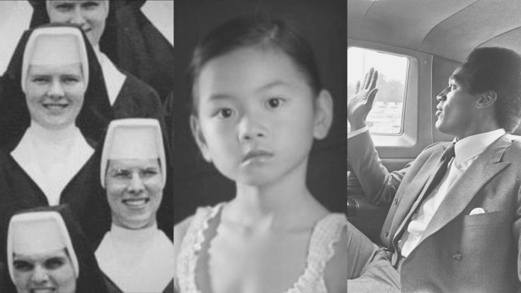 Imágenes de los trrue crime 'The Keepers', 'El caso Asunta' y 'O.J.: Made in America'.