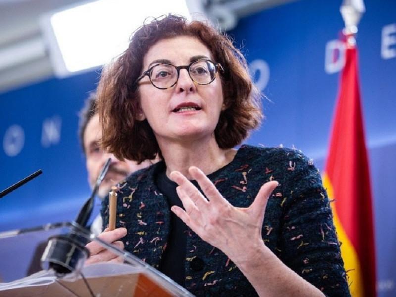 Maite Pagazaurtundúa llama a Von der Leyen a velar por el Estado de Derecho en España