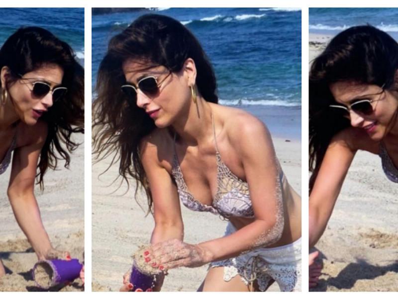 Paloma Cuevas en bikini
