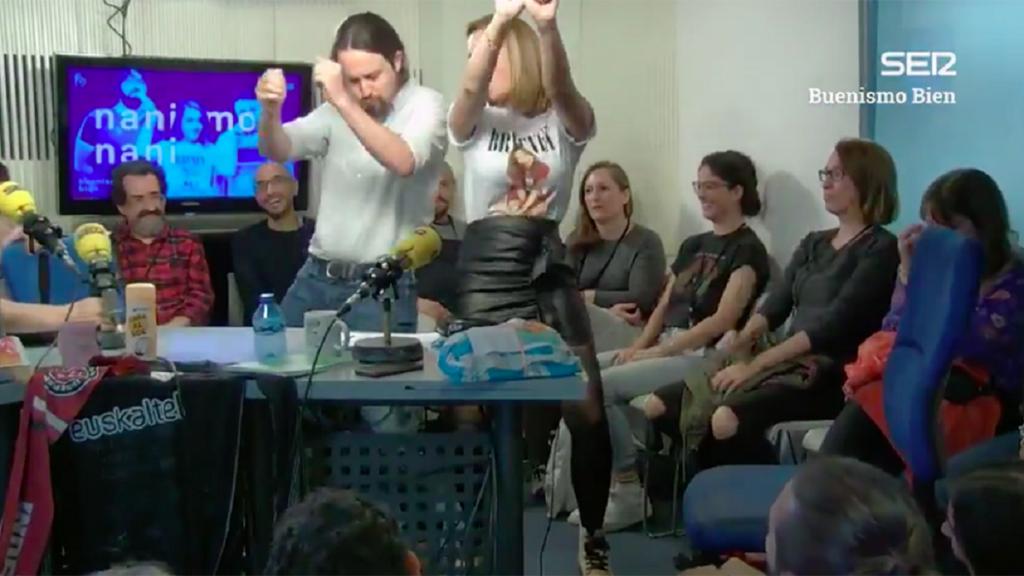 Pablo Iglesias bailó reguetón también en el mismo programa en 2019