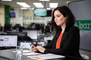 Isabel Díaz Ayuso en entrevista con Vozpópuli