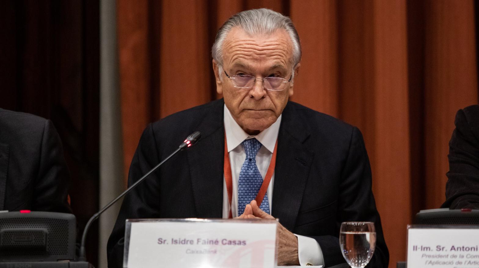 Criteria Caixa no aplicará su código ético a Fainé en el 'caso Villarejo'