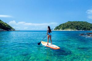 Practicar paddle surf este verano