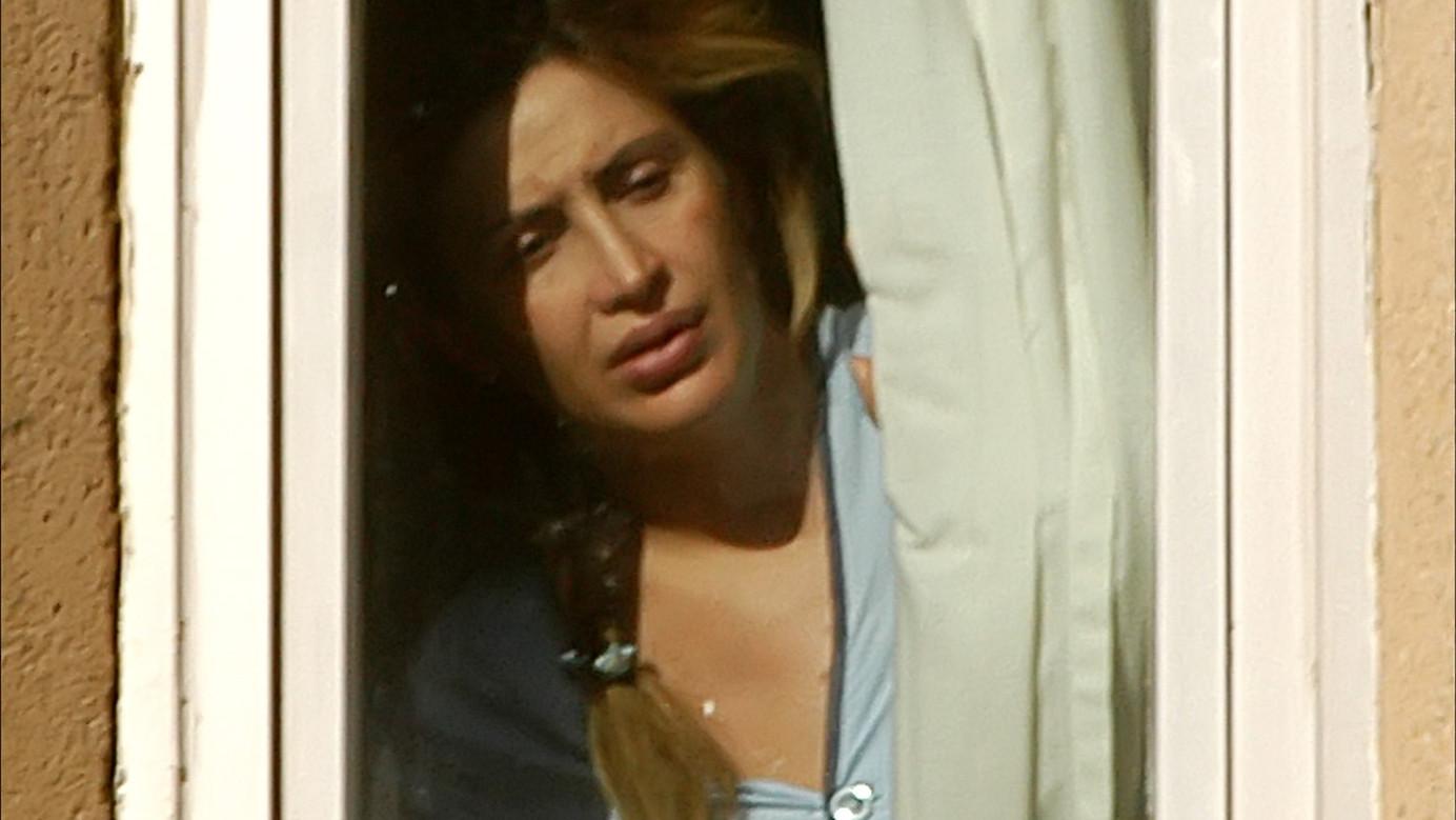 Raquel Mosquera, durante su ingreso en 2006
