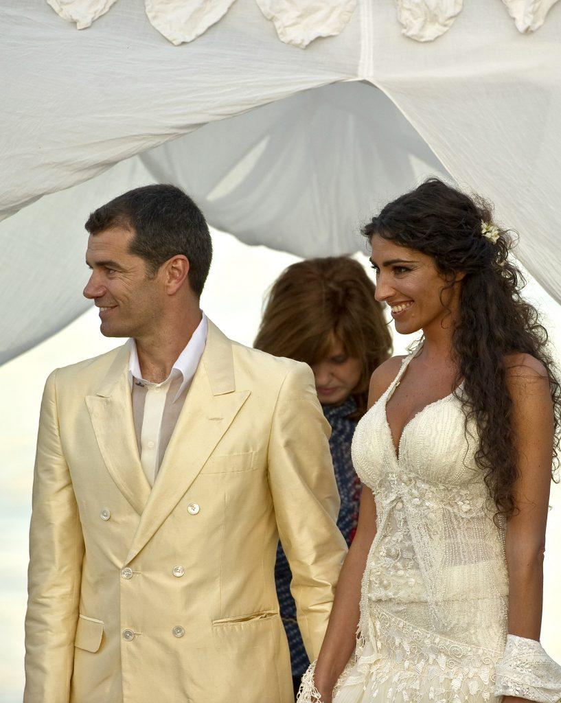 Toni Cantó, en su boda con Inma Suárez en 2010