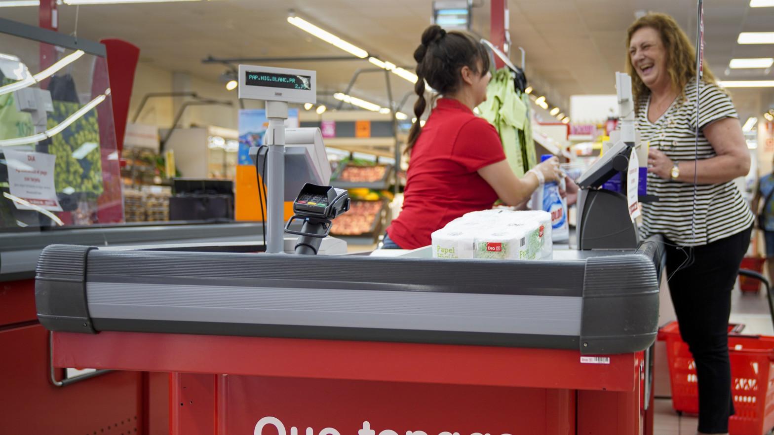 DIA facturó un 7,3 % menos en el primer trimestre tras cerrar 69 tiendas