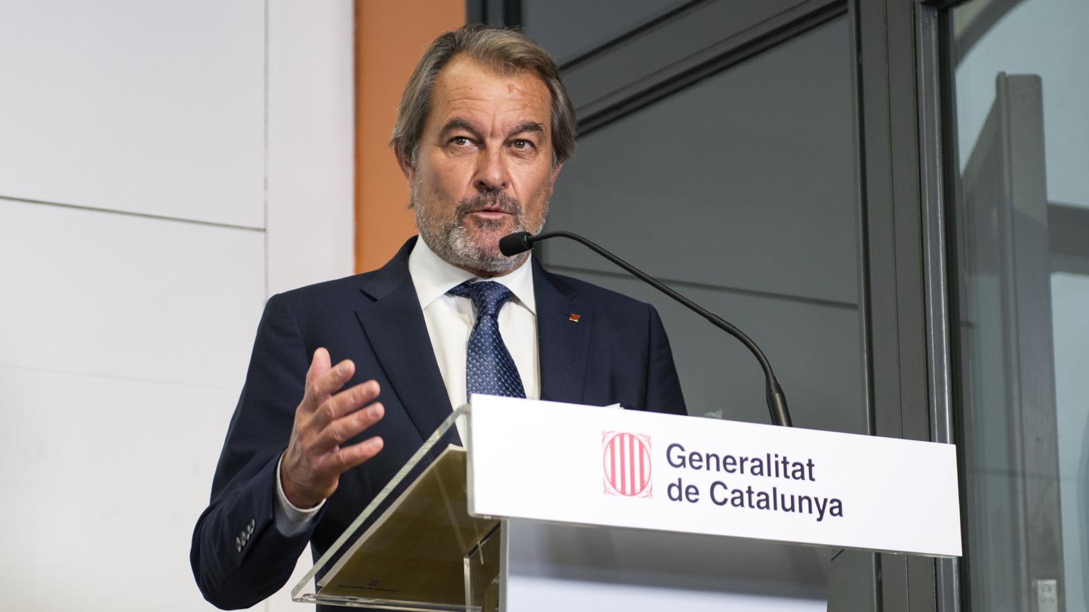 El 'pensionazo' de Artur Mas: el expresident empieza a cobrar 7.662 euros al mes