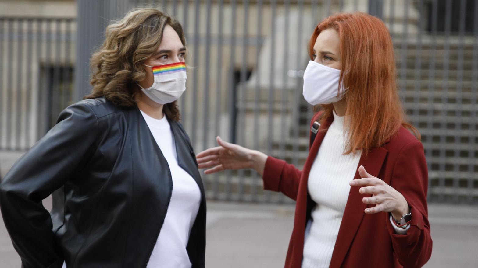 Colau se enfrenta a Illa por abortar su plan para colocar un senador de Podemos