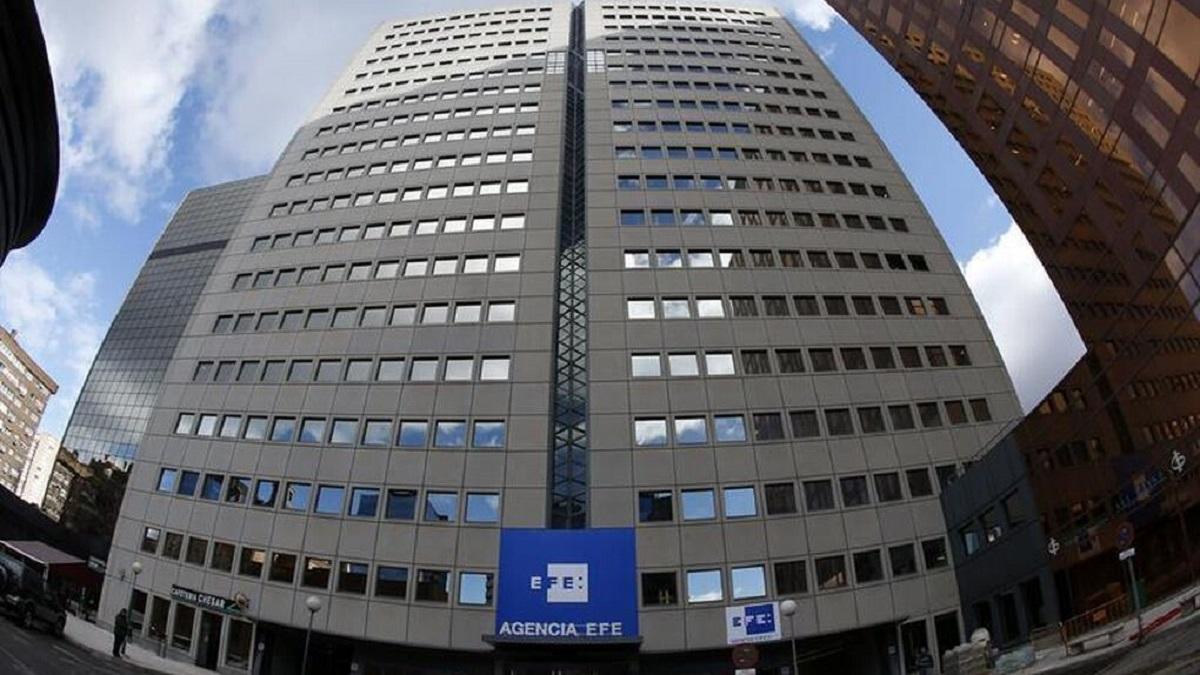 Sede de la Agencia EFE en Madrid