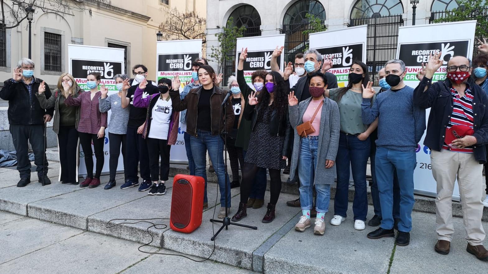 Una nueva coalición de izquierdas busca arañar votos a Podemos en plena crisis