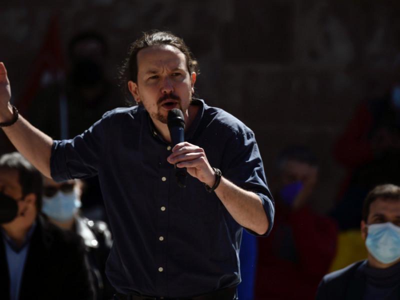 """Iglesias se desmarca de la congelación fiscal de Gabilondo: """"No vamos a ganar haciendo lo mismo que Ayuso"""""""