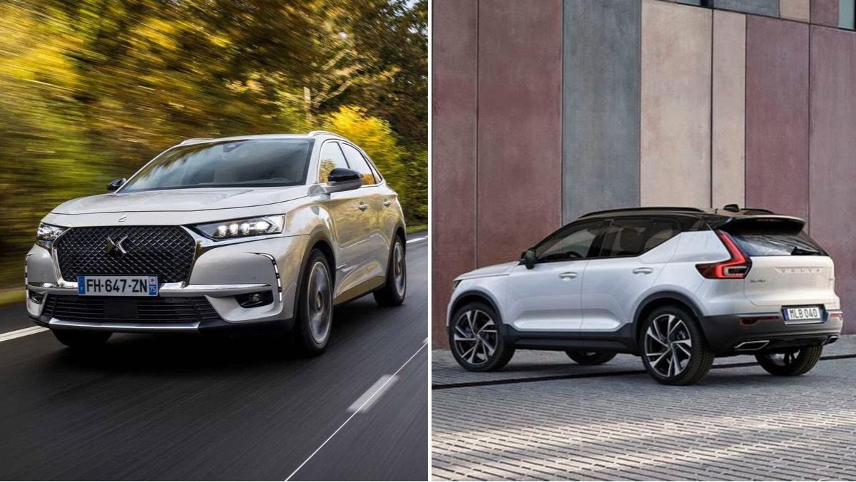 Probamos dos SUV híbridos muy eléctricos: DS7 e-Tense y Volvo XC40 Recharge