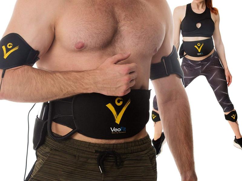 Electroestimulador muscular de abdominales