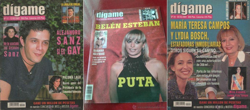 La polémica revista Dígame