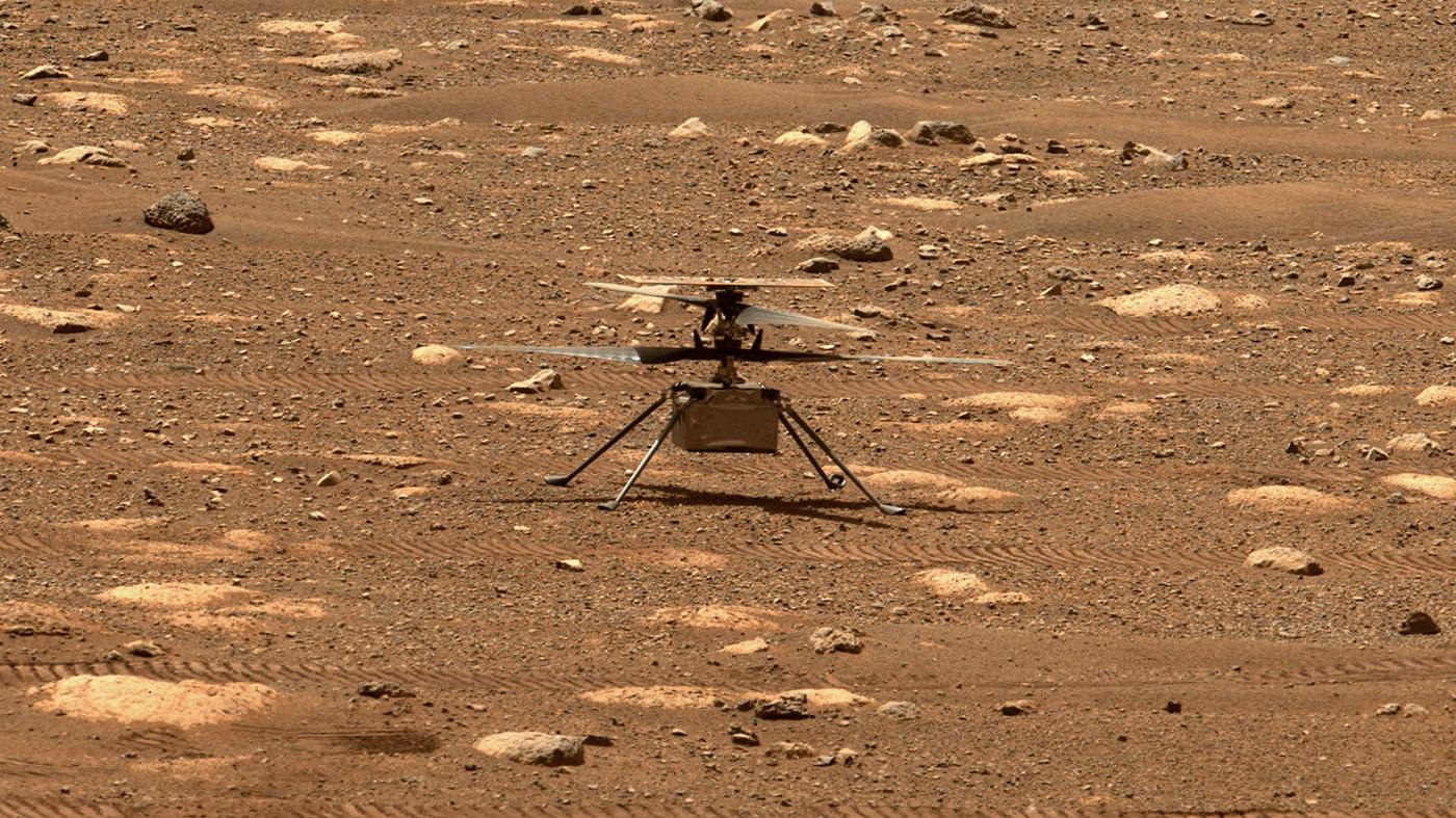 El helicóptero Ingenuity levanta el vuelo en Marte