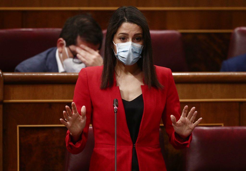 La líder de Ciudadanos, Inés Arrimadas, es la segunda mejor valorada en el CIS.