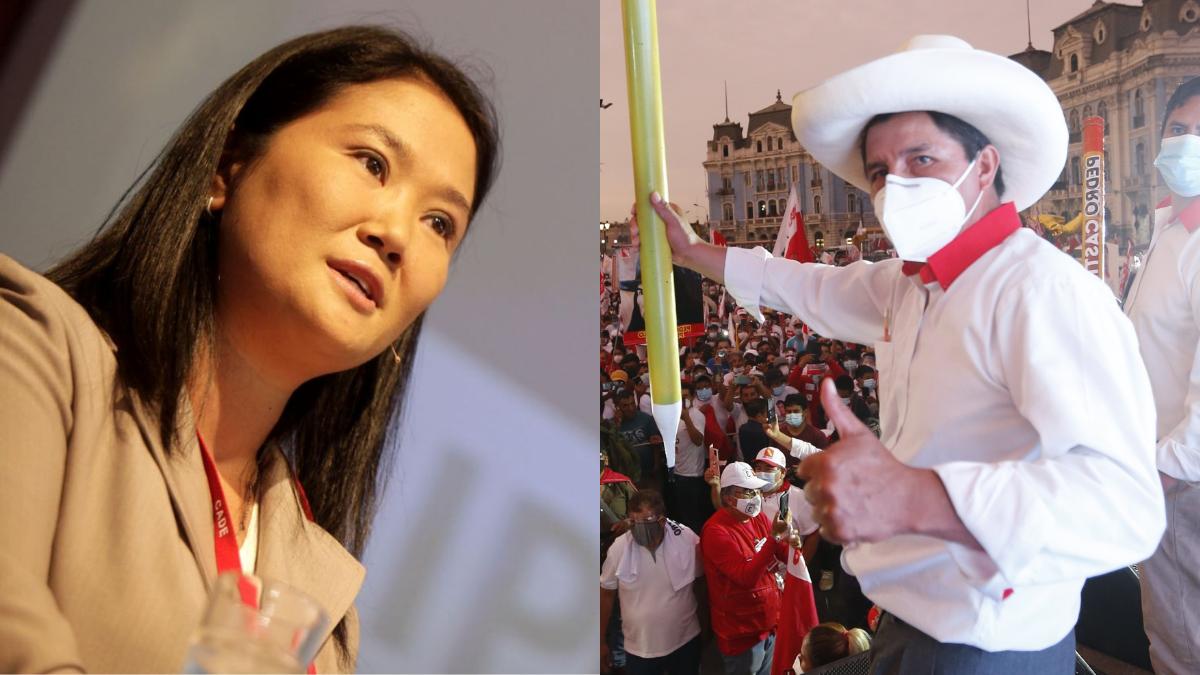 El primer sondeo para la segunda vuelta electoral en Perú da a Castillo un 42% de votos