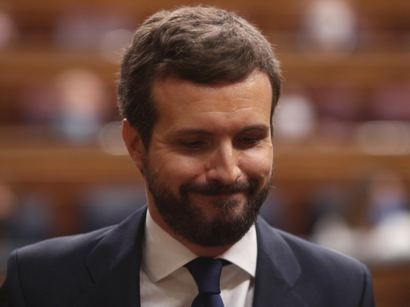 """El presidenteCasado anuncia una """"ofensiva legal"""" contra los peajes en autovías y carreteras del PP, Pablo Casado."""