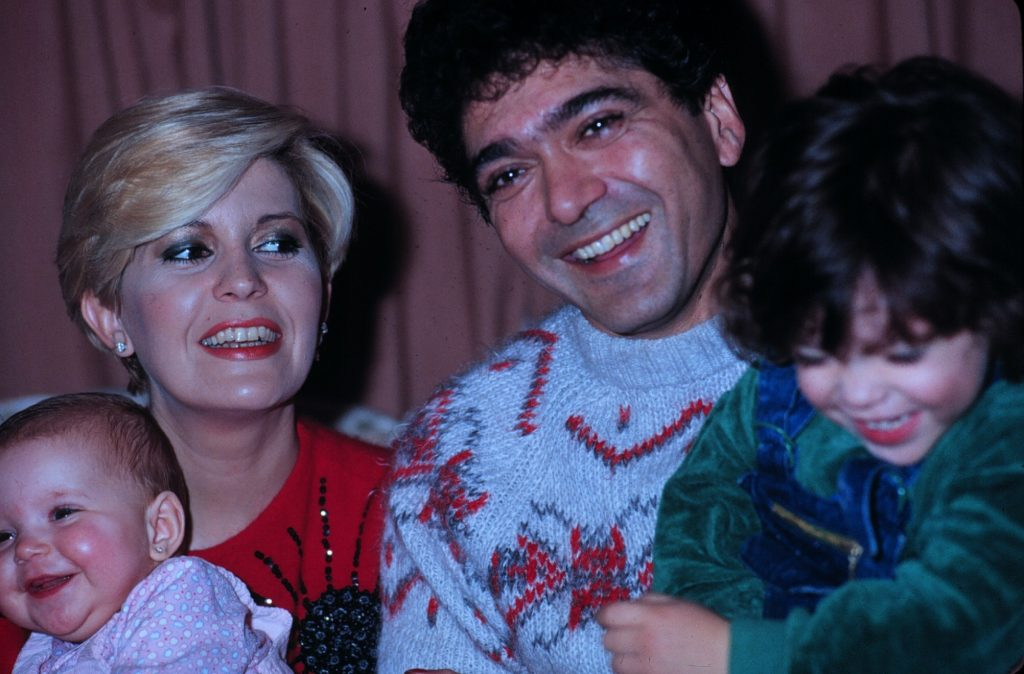 Bárbara Rey, Ángel Cristo y sus dos hijos