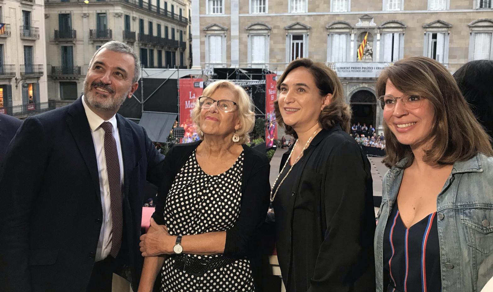 Una ONG une a Carmena con la trama de subvenciones de Colau que investiga la Fiscalía
