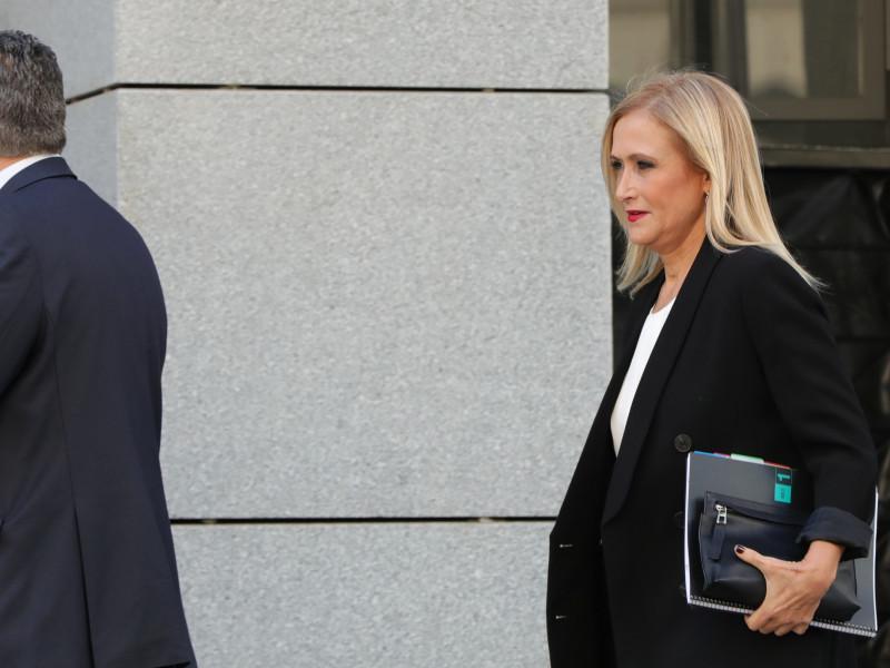 El juez archiva el caso contra Cristina Cifuentes en Púnica.