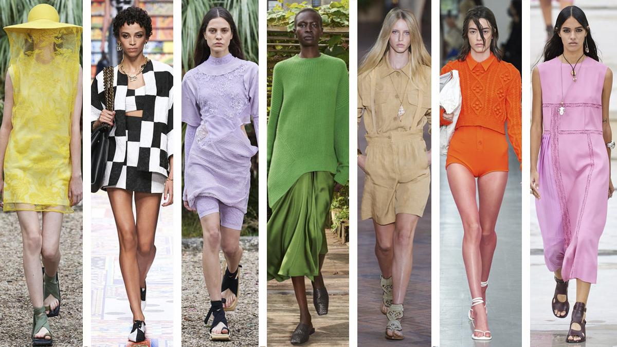 Los siete colores de moda que vestirás esta primavera-verano 2021