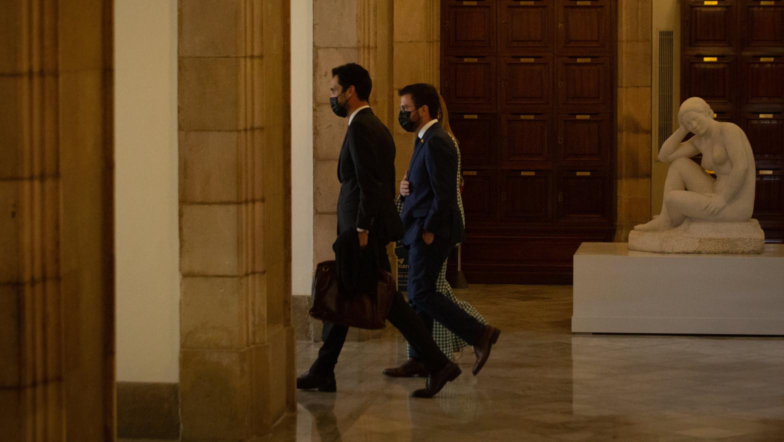 ERC impone a Junts en su último acuerdo tener las manos libres para pactar con Sánchez