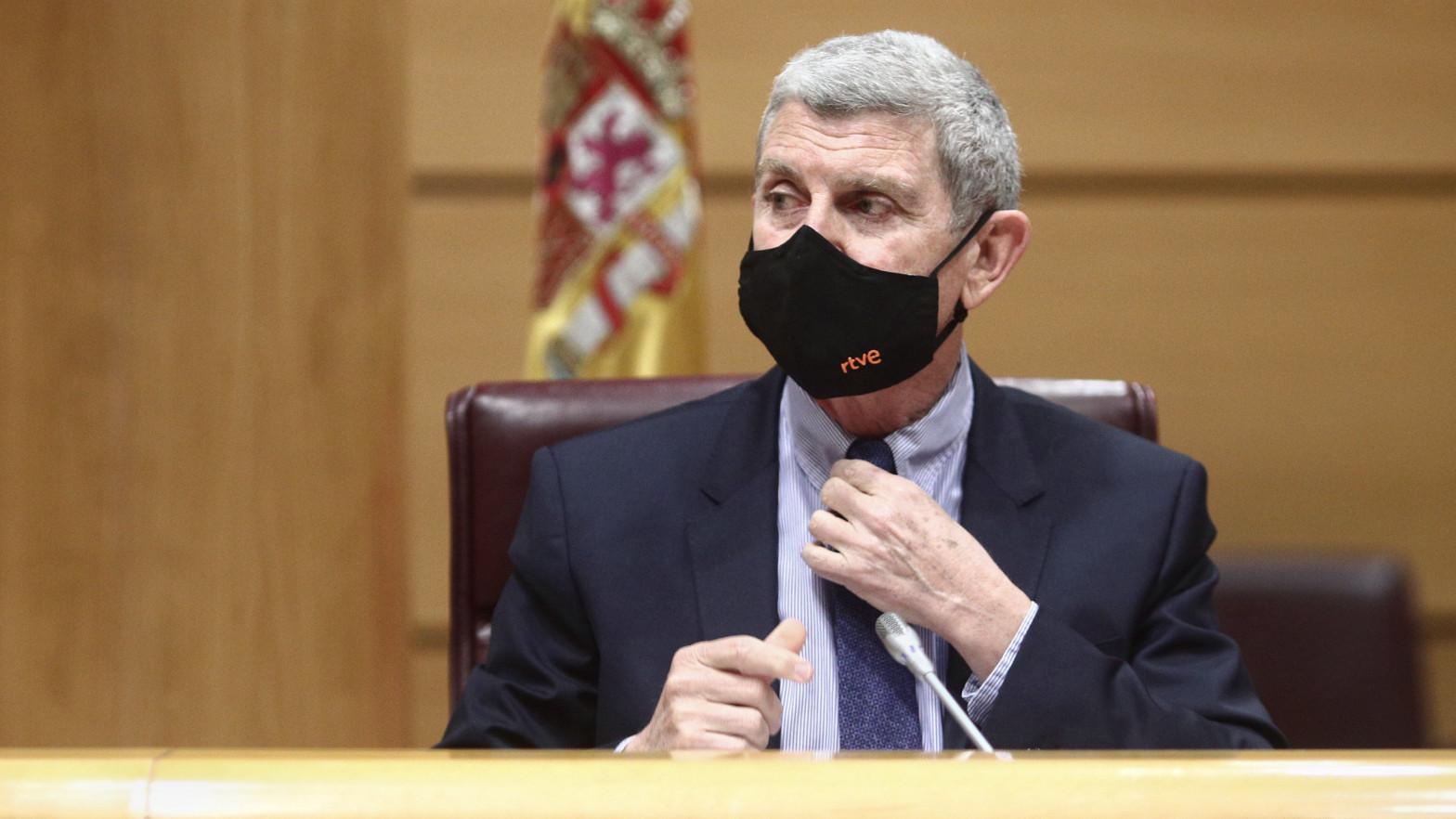 El presidente de la Corporación RTVE, José Manuel Pérez Tornero
