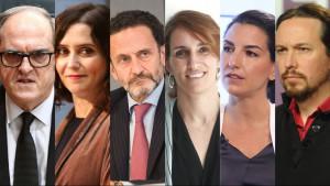 El patrimonio de los candidatos a la presidencia de la Comunidad de Madrid