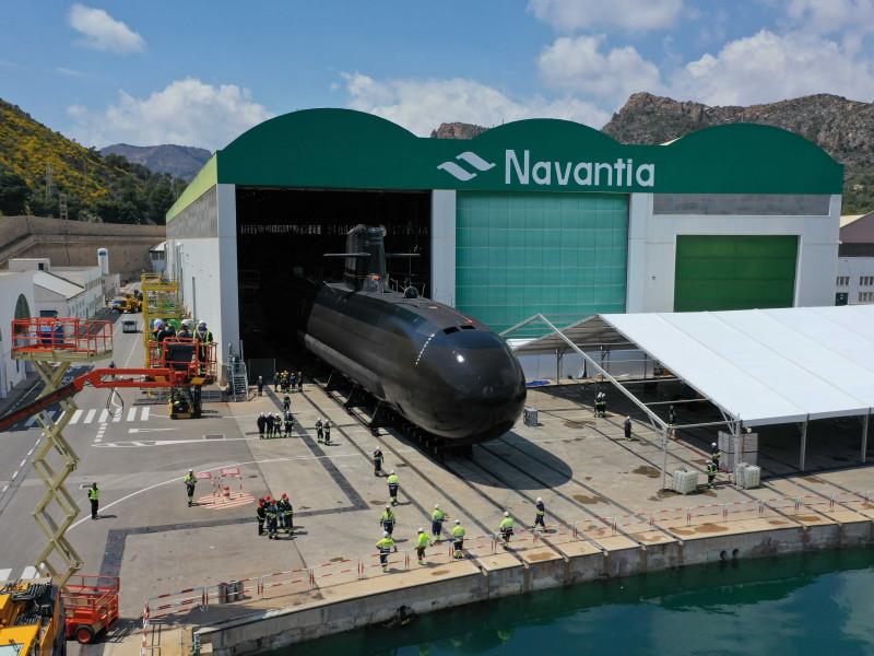 El submarino 'Isaac Peral' se bota este jueves tras un sobrecoste de 1.800 millones
