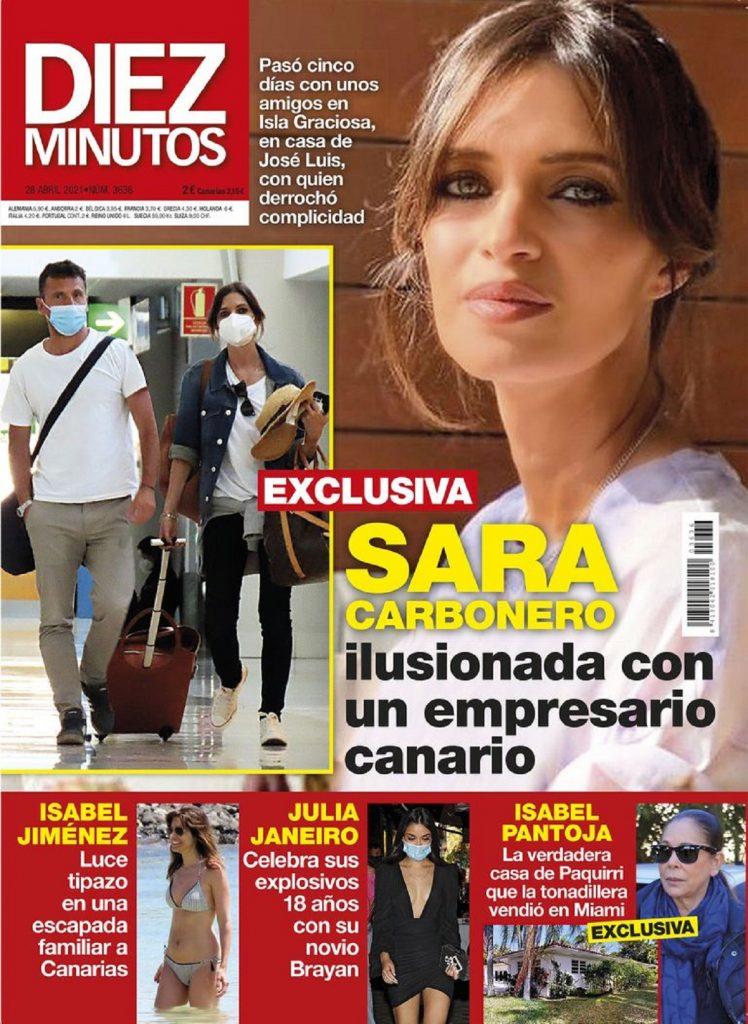 Sara Carbonero, muy bien acompañada con un empresario canario