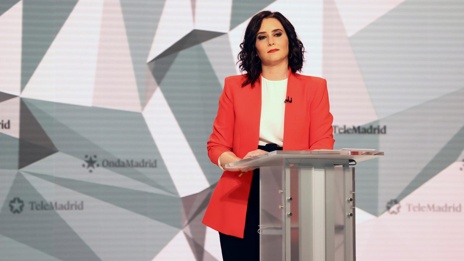 Ayuso ha ganado el debate electoral del 4-M, según un sondeo de Telemadrid
