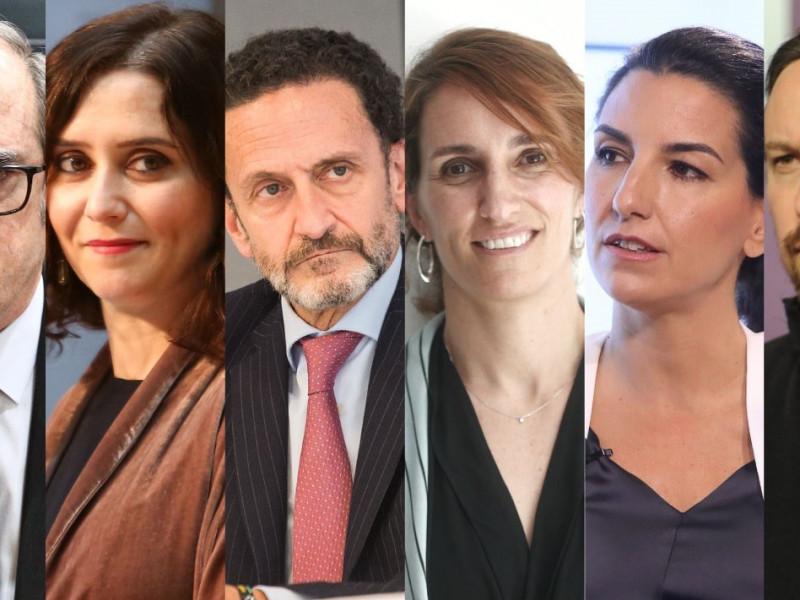 Debate de los candidatos a las elecciones en Madrid: bloques, horarios y dónde ver