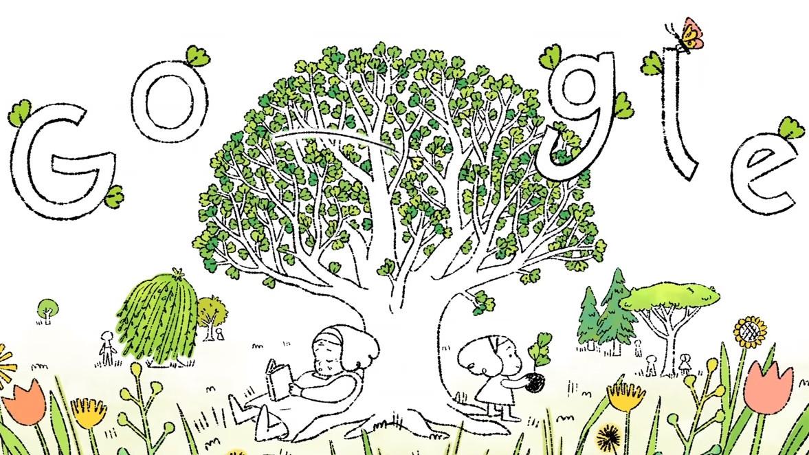 El 'doodle' de Google para celebrar el Día de la Tierra