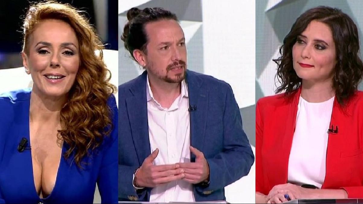 La entrevista de Rocío Carrasco arrasa frente el debate 4M de las elecciones de Madrid