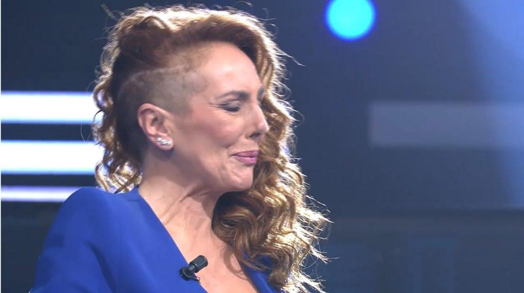 Rocío Carrasco entró llorando en el plató