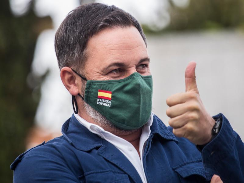 "Abascal dice que ""apesta a montaje de Podemos"" la carta amenazante recibida por Iglesias"