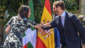Casado y Arrimadas rompen el hielo al debatir sobre la reforma del Poder Judicial