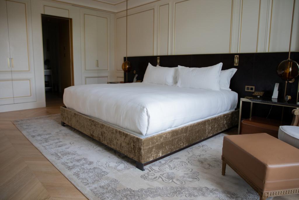 Una de las 53 suites del hotel Ritz