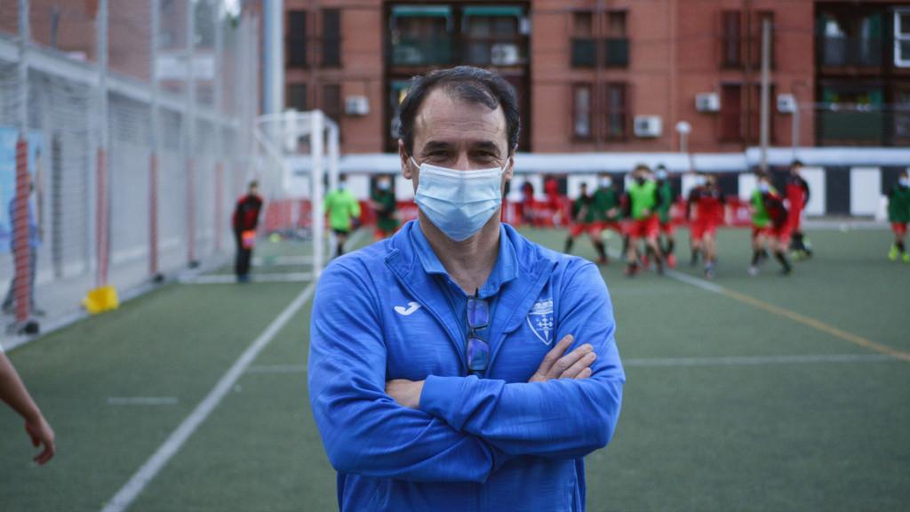 La 'Superliga' del Carabanchel: fútbol de barrio entre ladrillo rojo