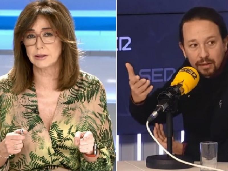 Ana Rosa Quintana estalla contra Pablo Iglesias y le llama fascista