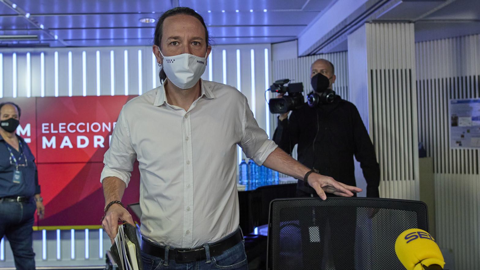 Iglesias advierte al PSOE de que si Gabilondo pincha no habrá remontada contra Ayuso