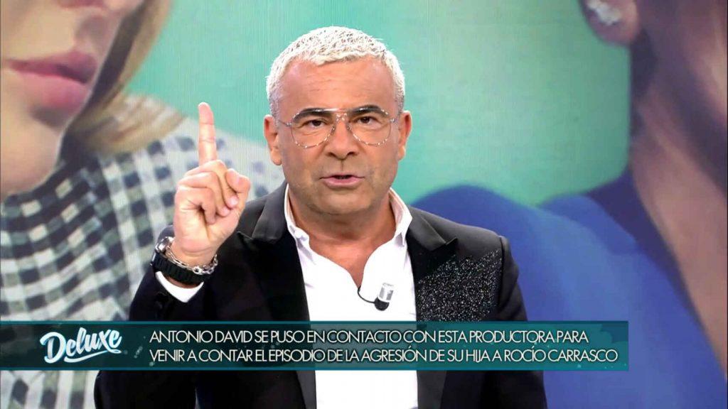Jorge Javier Vázquez cuenta que Antonio David quiso vender la agresión de su hija a su madre