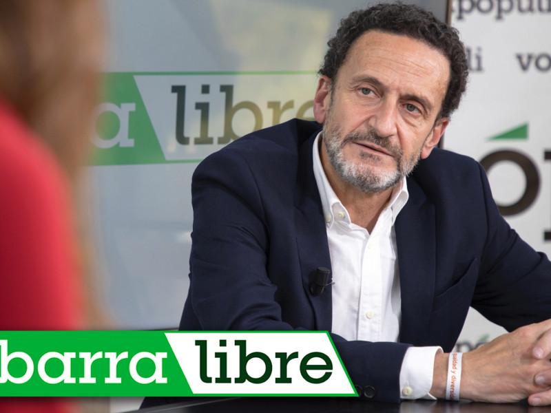 Entrevista con Edmundo Bal y los 10.000 euros de sanción por las cartas con balas