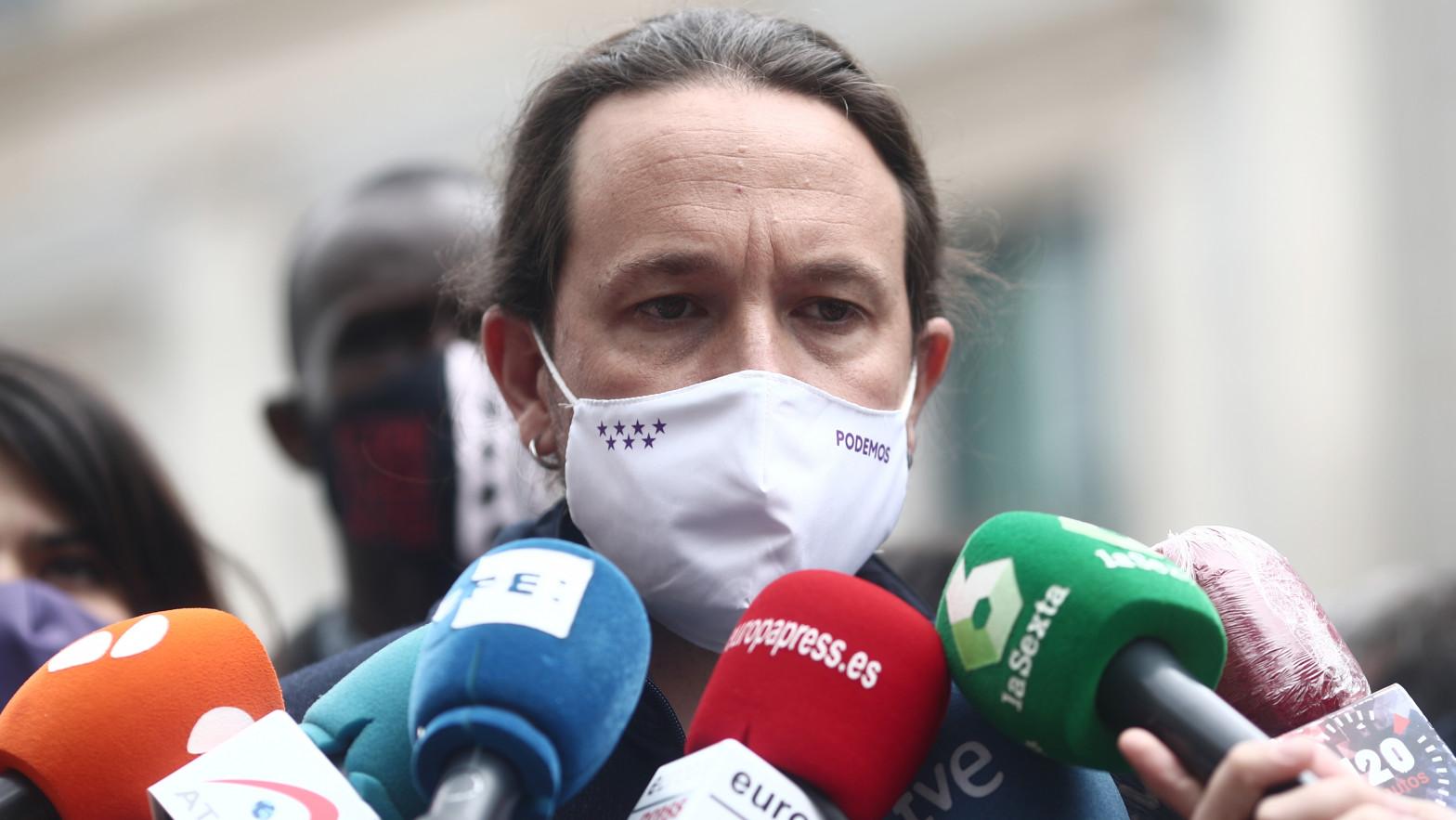 """Pablo Iglesias asegura que """"Ayuso es más de la ultraderecha que la propia ultraderecha"""""""