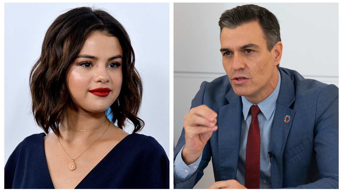 Selena Gómez escribe a Pedro Sánchez: extraño pero cierto