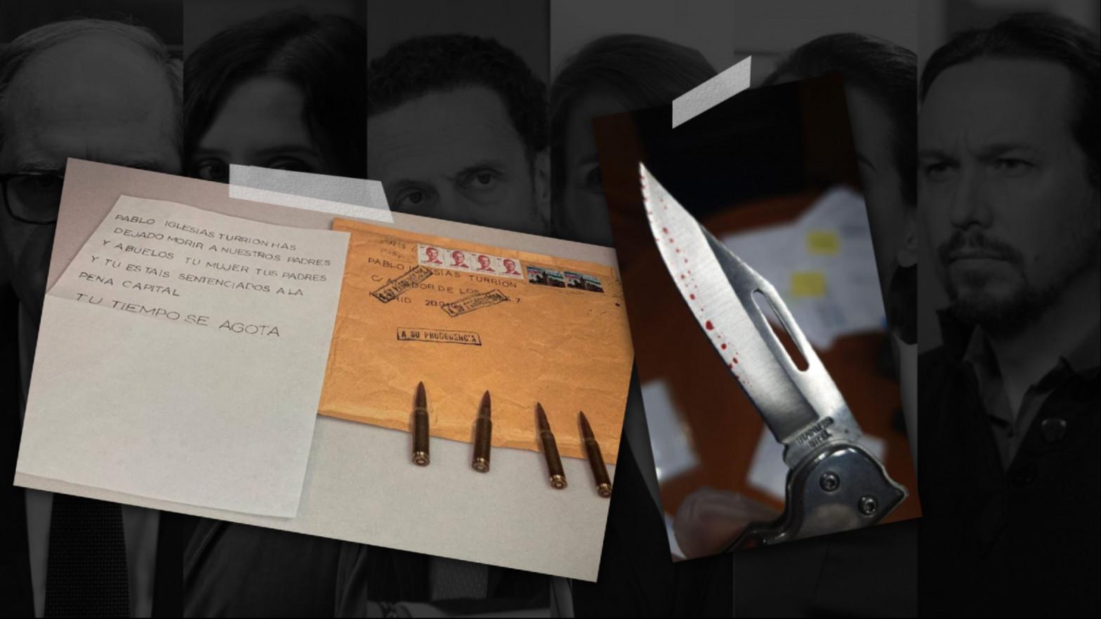 """El número 2 de Interior considera """"graves"""" las cartas amenazantes, pero rechaza hablar de """"efecto contagio"""""""